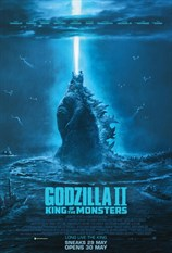 Godzilla II King Of The Monsters (First Class)