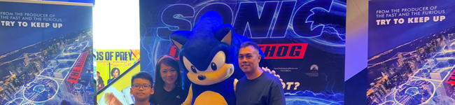 Sonic the Hedgehog Meet and Greet
