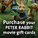 Purchase your Peter Rabbit Movie Gift Cards!' title='Purchase your Peter Rabbit Movie Gift Cards!