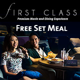 Free Set Meal in First Class