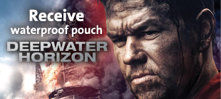 Receive Deepwater Horizon Waterproof Handphone Pouch