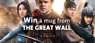 Win a mug from THE GREAT WALL