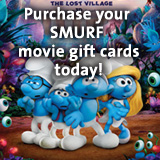Pre-order your Movie Gift Cards today from SMURF