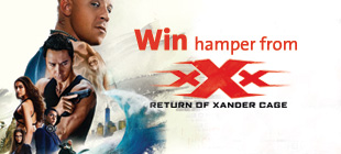 Win movie hamper from xXx: Return of Xander-Cage