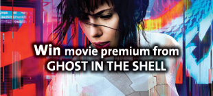 Win movie premium from THE GHOST IN THE SHELL