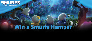 Win a Smurfs Hamper
