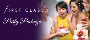 First Class Party Package