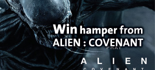 Like, Comment & Win Movie Hampers from ALIEN : COVANENT