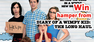 Win hamper from DIARY OF A WHIMPY KID : A LONG HAUL
