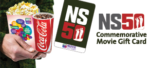 NS50 Commemorative Movie Gift Card