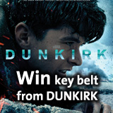 Win key belt from DUNKIRK