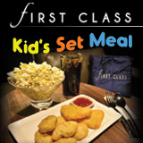 FIRST CLASS Kid's Meal Set