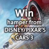Win hamper from DISNEY/PIXAR'S CARS 3