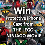 Win protective Iphone case from THE LEGO NINJAGO MOVIE