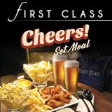 FIRST CLASS Cheers Set