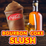 Bourbon Coke Slush