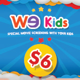 WE Kids at $6 - Special screening with your kids