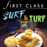 First Class Surf & Turf Set Meal