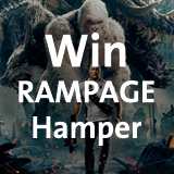 Win hamper from RAMPAGE