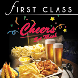 First Class Cheers Set Meal