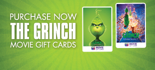 Purchase your THE GRINCH Movie Gift Cards now