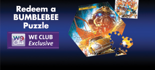 Redeem a BUMBLEBEE puzzle