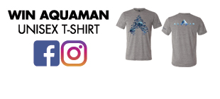 Win a t-shirt from AQUAMAN