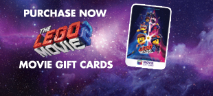 Purchase your The Lego Movie 2 Gift Cards