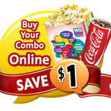 Buy your combo online & save $1